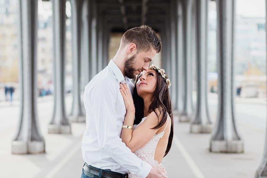 mariée sous pont bir hakeim