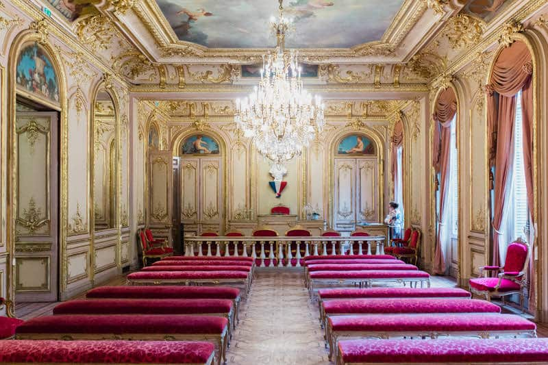 La mairie du 8eme arrondissement