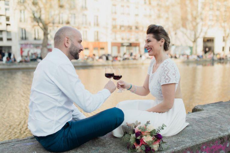 Mariés au canal saint martin