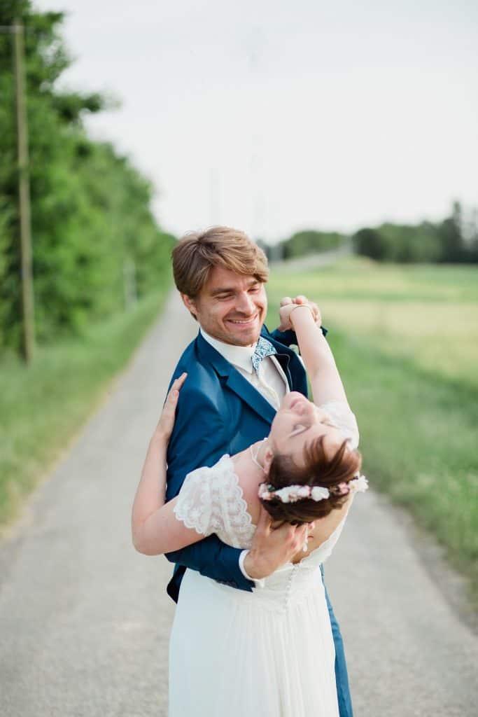 la danse des mariés