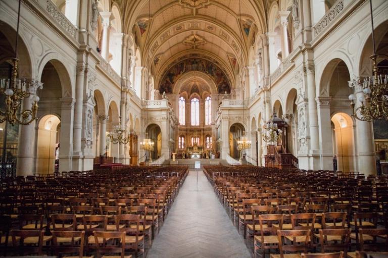 Photos de mariage Ste Trinité Paris 9