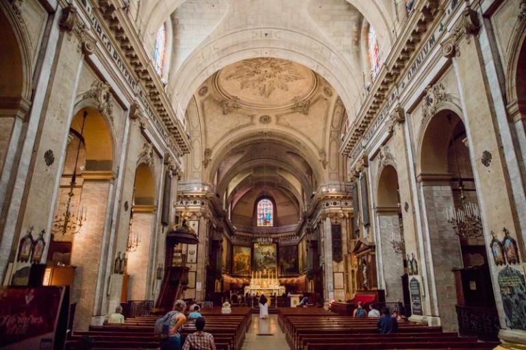 Photo mariage Notre Dame des Victoires Paris 2