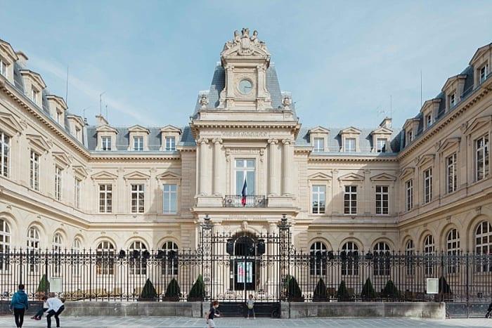 Mairie du 3eme arrondissement paris