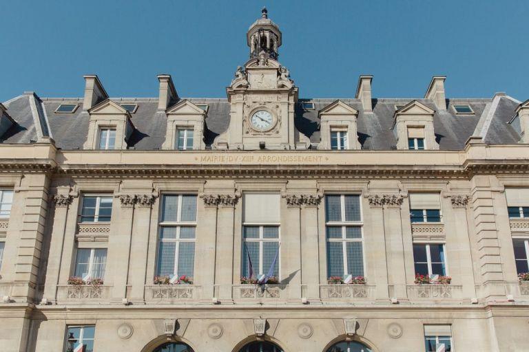 La mairie du 13ème arrondissement de paris