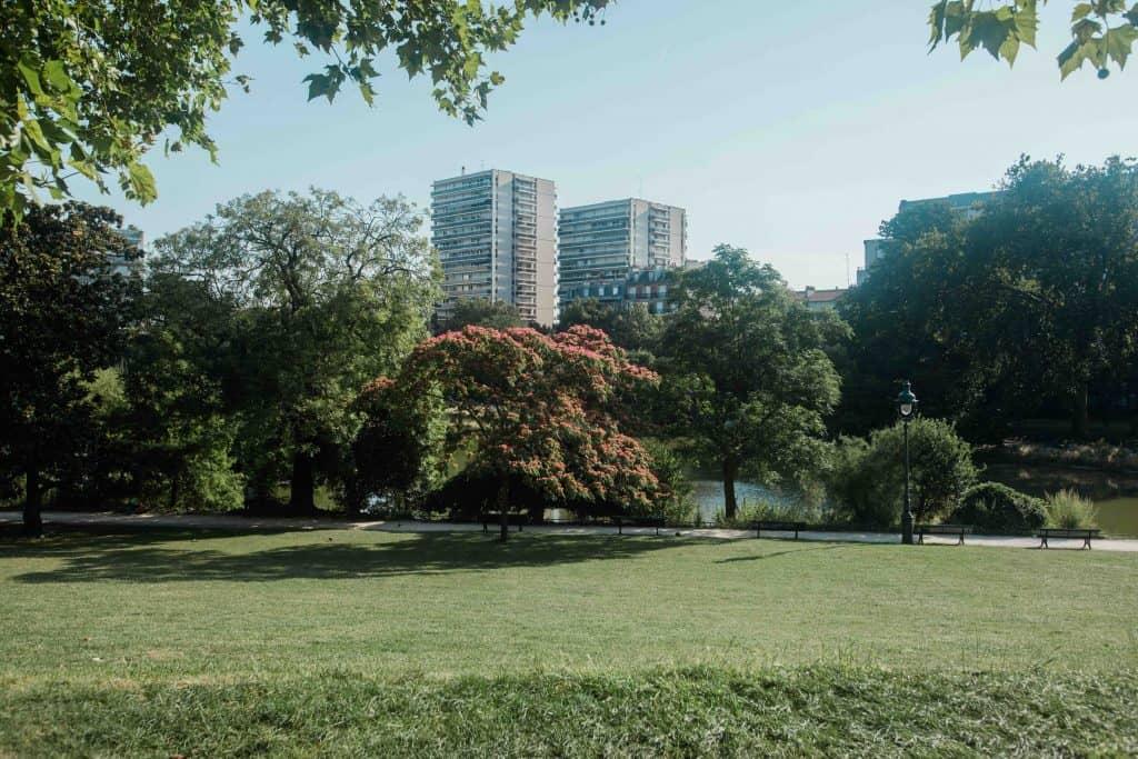 le Parc Montsouris 14 eme arrondissement paris