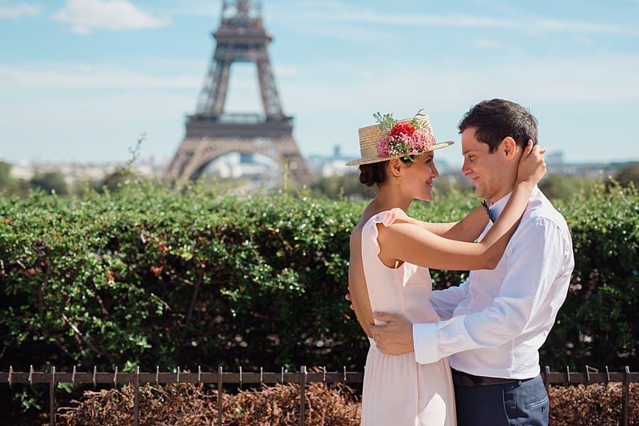 mariage au trocadéro