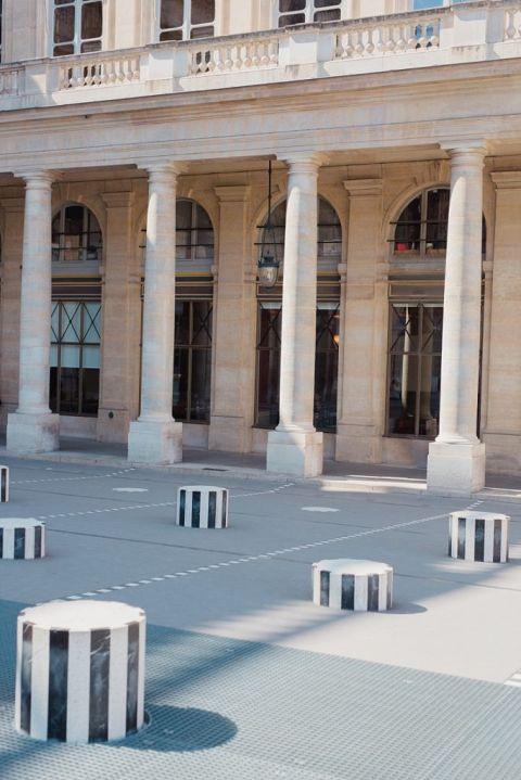 Les colonnes de Buren 75001 paris