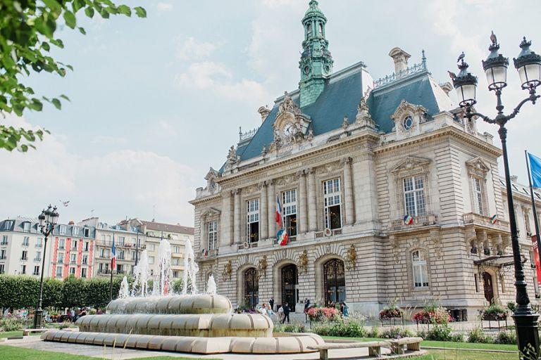 La mairie de Levallois