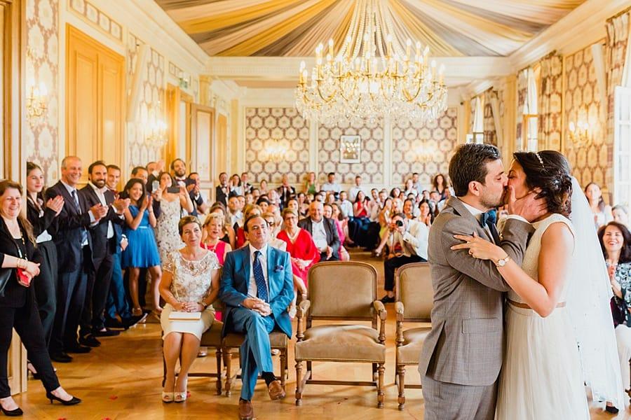 Mariage à la mairie de Levallois