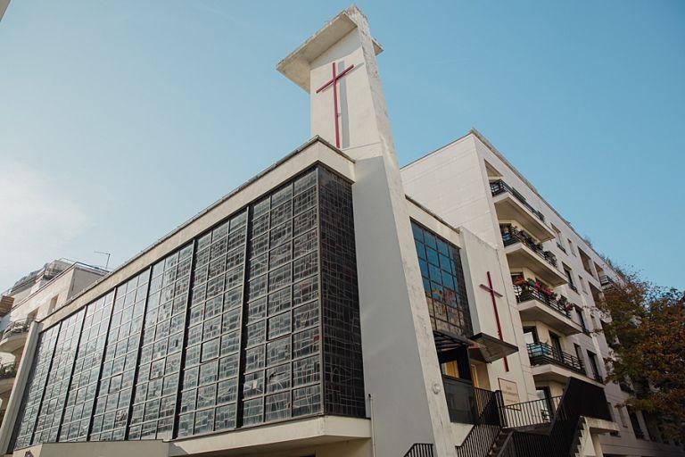 L'Église Sainte-Bernadette 92 Levallois
