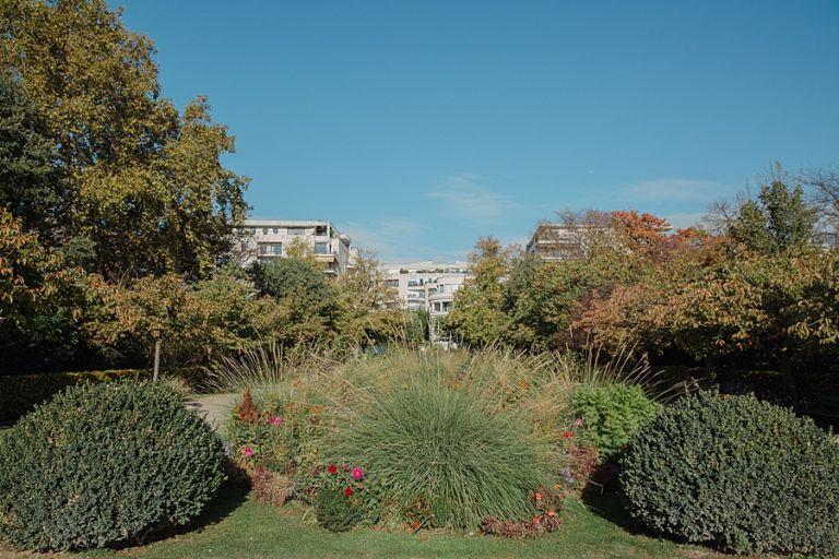 Le parc de Bécon