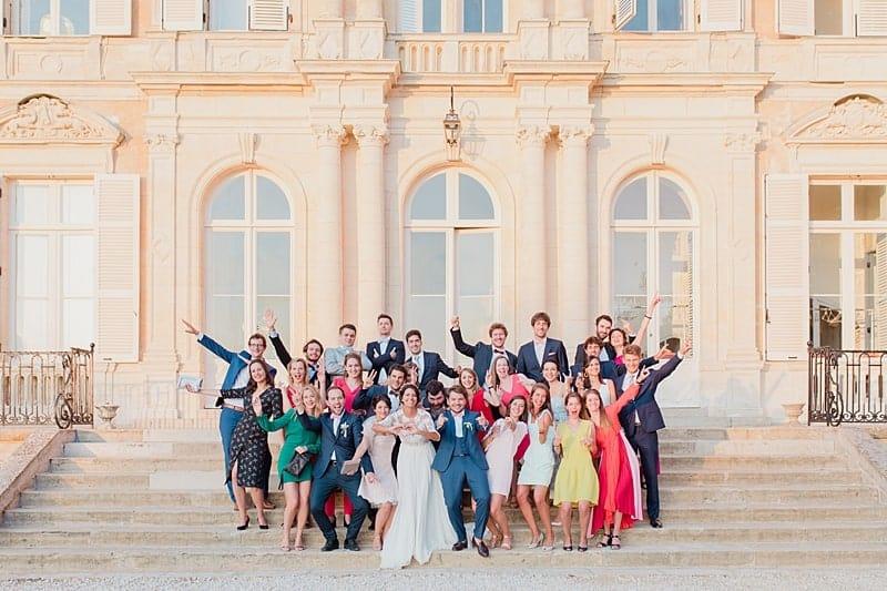 Photo de groupe au chateau d'Azy