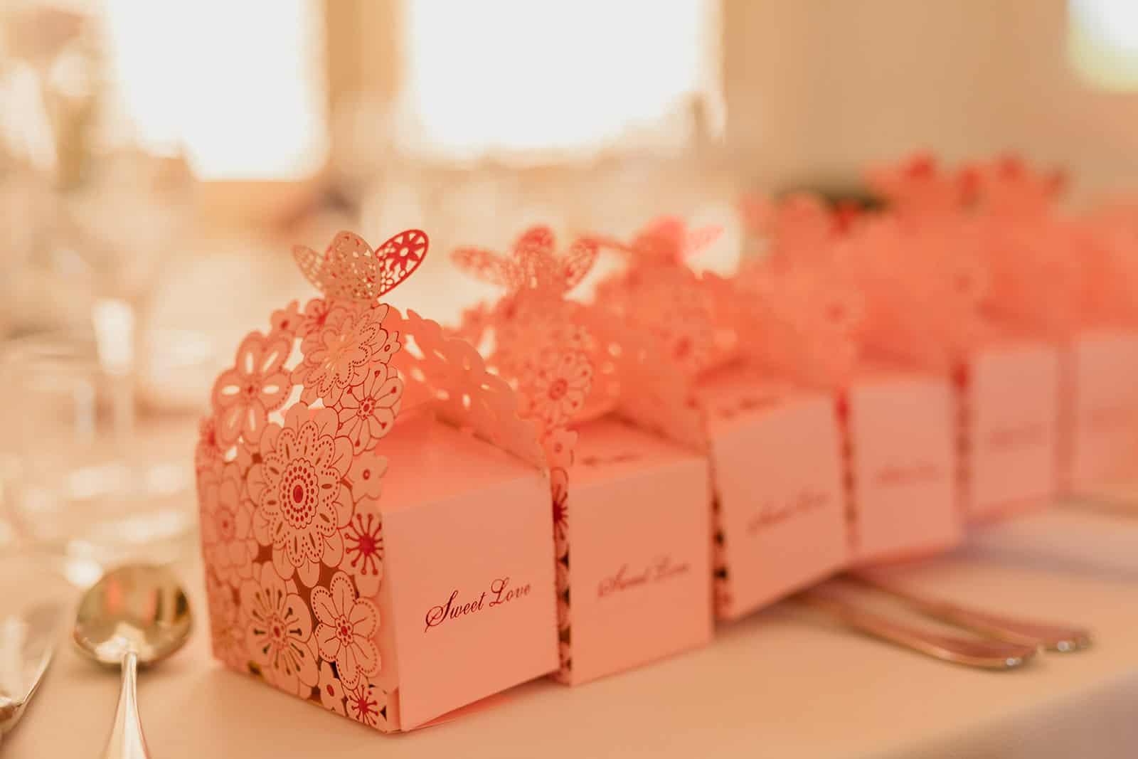 cadeau de mariage pour les invités