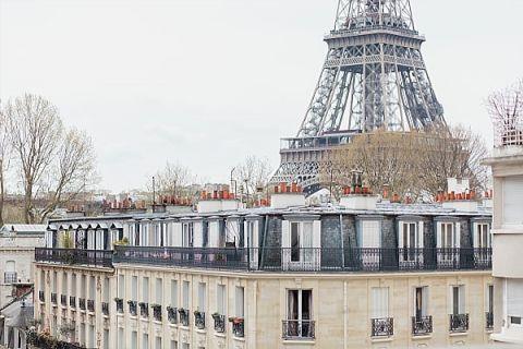 magnificient view of Paris