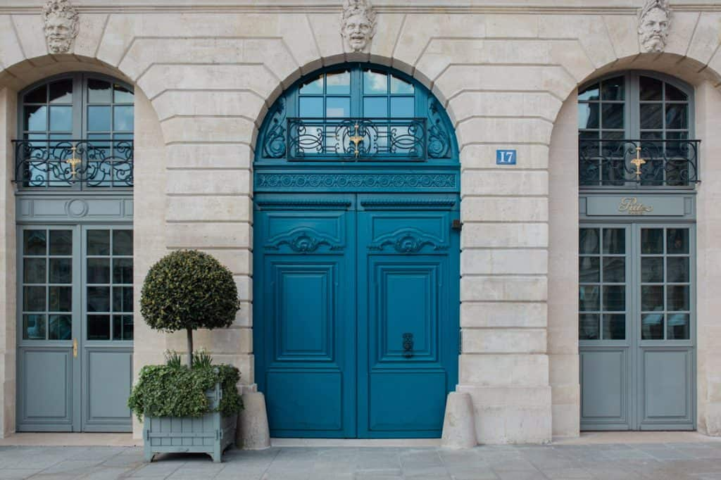 magnifiques portes place vendome