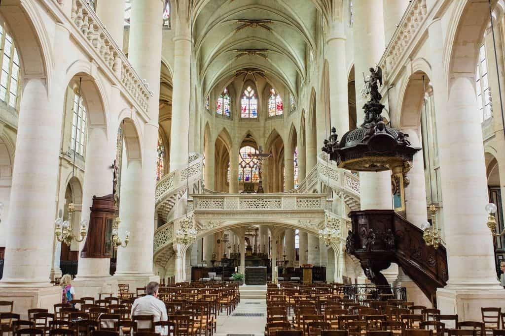 L'église Saint-Etienne-du-Mont