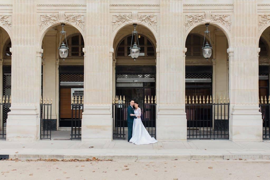 Une séance couple à Paris