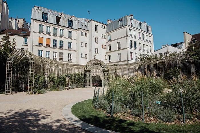 jardin Anne Franck Paris
