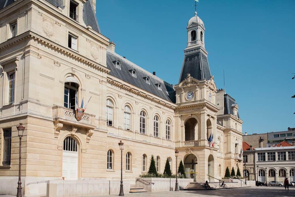 La mairie du 14eme
